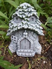 Fairy house latex mold plaster concrete casting mould