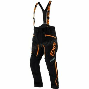 FXR XL Racing Black/Orange Mission X Pants - 210108-1030-16