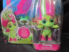 The Zelfs Flamy Dragon Green Masquerade Season 2 Medium Size Moose Toys Troll