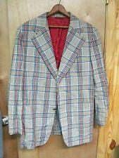 Vintage Bill Blass Blazer Sports Jacket August 1974 Raleigh Haberdasher 43L