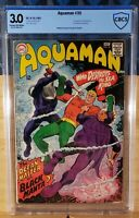 AQUAMAN 35 CBCS 3.0 1ST BLACK MANTA 1967 NEWEST GEN SLAB CGC ?
