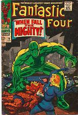 Fantastic Four #70 - Super Adaptoid Cover - 1968 (Grade 4.5)