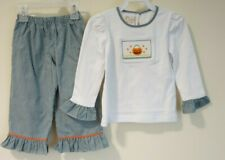 New W/Tags Smocked Giraffe by Vive La Fete Smocked Halloween Outfit Size 5