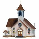 Woodland Scenics Ho Community Church (Lit) *, #WS-BR5041