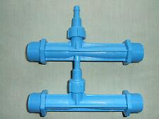 "Two x Venturi Air / Fluid Injectors 3/4"" Brand New Unused"
