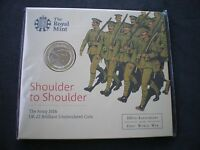 2016 Royal Mint The Army First World War WWI BU £2 Two Pound Coin Pack