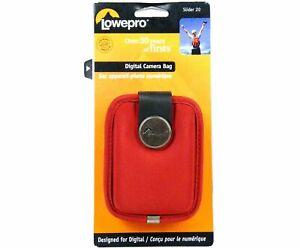 LOWEPRO SLIDER 20 NEU OVP HÄNDLER Tasche Canon Ixus 150 155 160 165 170 175 180