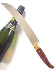 Laguiole Champagner-Säbel XXL Sabre Knife Sektflaschenöffner in Holz-Schatulle