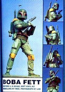"""11""""Star War BOBAFETT Sci-Fi Classic Movies Vinyl Model kit 1/6"""