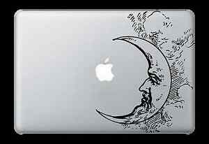 Moon Cloud Face Decal Sticker for Apple Mac Book Air/Pro Dell Laptop Graphic