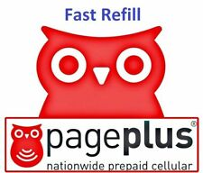 Page Plus Cellular Monthly Plan $55 Refill - PIN  1-24 hours