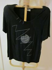 T.S. BLACK TOP SIZE M [APPROX 18/20]