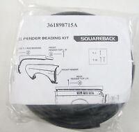 VW Type 3 T3 Wing Fender Beading kit Black ISP Squareback Fastback 61-73