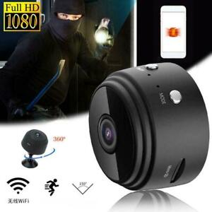 Night Vision 1080P Wireless WiFi In / Outdoor HD Mini IP IR Security A L5D3