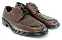 Cole Haan Oxford Men's Sz 13 M Brown Leather Lace Up Apron Toe Dress Shoe C03786