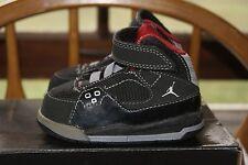 Toddler Jordan SC 1 (TD) Sz 4C Black Varsity Red Stealth Sneakers Shoes