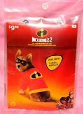 New, Incredibles 2 Dog Cat Pet Shirt & Mask Costume Size Small