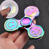 Multicolor Hand Spinner Smiley Fidget ADHD ADS EDC Anti Stress Top WoW Neu smile