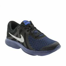 Nike Revolution 4 Kids Trainers Shoes Black Navy