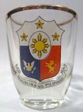 PHILIPPINES SHOT GLASS SHOTGLASS