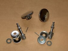 NEW Norton Commando Seat Knob/Shock Bolt Kit Billet Alum/Stainless 750 850