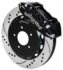 "WILWOOD DISC BRAKE KIT,FRONT,99-06 BMW E46,320i,323i,325i,328i,330i,14"",BLACK,DR"