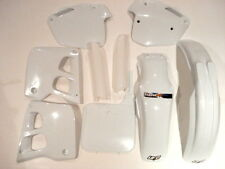 honda cr250 1991 plastique Kit 3 MOTOCROSS BLANC UFO