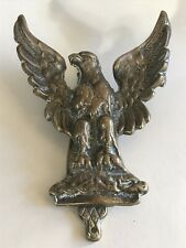 Vintage Brass Eagle, Bird Of Prey, Door Knocker