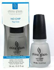 China Glaze Treatment - NO CHIP Top Coat - Prevent Lacquer From Chipping 0.5oz
