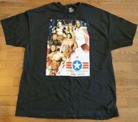 WWE Wrestling Mens 2XL The Great American Bash 2006 XXL Tee Shirt Rey Mysterio