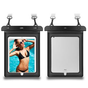 """Tablet Waterproof Underwater PVC Pouch Dry Bag Case Cover For 11"""" iPad Pro 2021"""