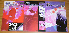 Moonstone Noir: Mr. Keen, Tracer of Lost Persons #1-3 VF complete series set lot