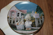 The Hamilton Collection Precious Moments 'God Loveth A Cheerful Giver' Plate