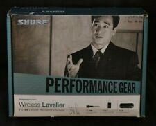 Performance Gear Wireless Lavalier PG185 Microphone System