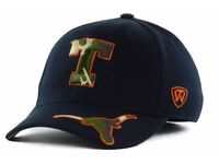 University of Texas Longhorns Top of the World Dog Tag Flex Fit NCAA Cap Hat