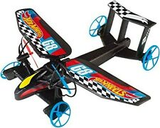Hot Wheels Sky Shock RC IR Remote Control Plane Car Ages 8 Toy Helicopter