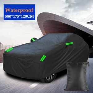 Full Car Cover Waterproof Dust-proof UV Resistant All Weather Protection Durable
