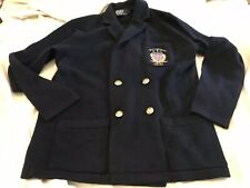 Polo Ralph Lauren Mens Double Breasted Cashmere Sweater Coat