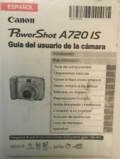 Espanol Canon Powershot A720is User Guide