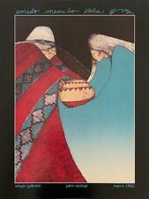 """Amado Pena Poster """"Adagio Gallery """" 1982"""