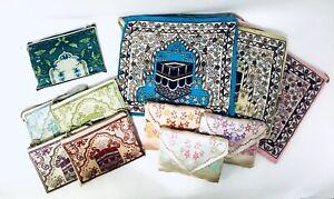Islamic Travel Prayer Mat Prayer Rug Salat Janamaz mat Perfect for Hajj Umrah