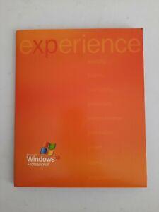 MICROSOFT WINDOWS XP PROFESSIONAL UPGRADE  GENUINE RETAIL 2002 PRODUCT KEY & CD