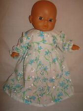 """Beautiful Embroidery Angalis Dress. First Baby Annabell / Little Born 12""""/14"""""""