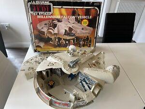Vintage Star Wars Complete Millennium Falcon Box Millenium Falcon Boxed