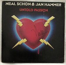 "Autographed Neal Schon (Journey, Santana) & Jan Hammer ""Untold Passion"" Vinyl"