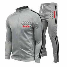 Audi Autos Männer Trainingsanzug Sportanzug Jogginganzug  Sweatshirt + Hose Sets