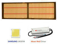 QUANTUM GROW LIGHT 280w+660nm V3 LM301H,(rspec),Meanwell HLG-240 driver,SAMSUNG