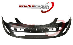 Vauxhall Corsa D 2011-2015 Front Bumper, Standard  New Insurance Approved Primed