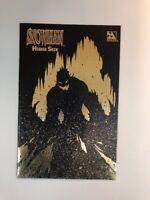 Snowman Horror Show 1 Leather Variant Cover Rare Htf 1998 Avatar Comics NM