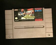 Pro Quarterback (Super Nintendo, 1992) SNES GAME ! Classic football cartridge !
